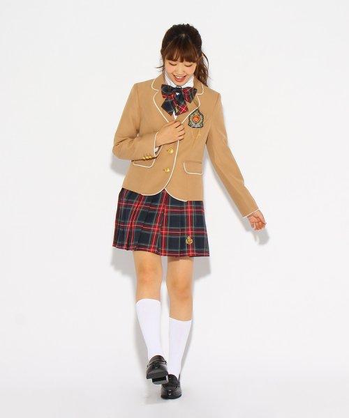 PINK-latte(ピンク ラテ)/【卒服】エンブレム付きパイピングジャケット/99990931941024_img10