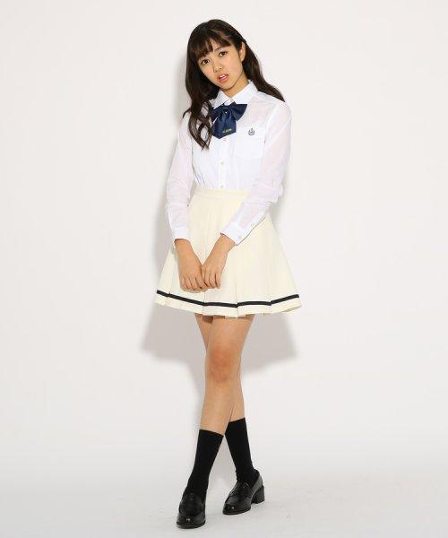 PINK-latte(ピンク ラテ)/【卒服】リボンタイ付 セーラー スカート/99990931971032_img09