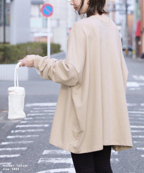 reca(レカ)/ボリューム袖ゆったりスウェット/100589_img02
