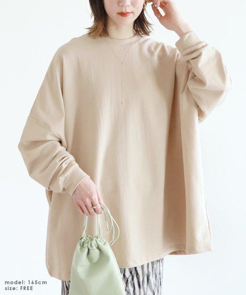 reca(レカ)/ボリューム袖ゆったりスウェット/100589_img03