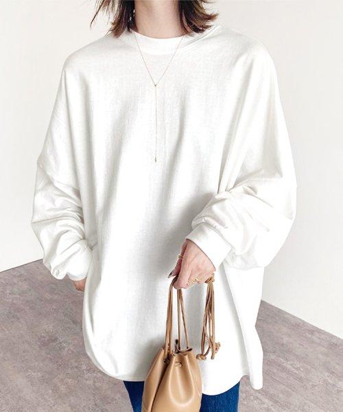 reca(レカ)/ボリューム袖ゆったりスウェット/100589_img21