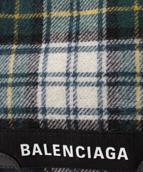 buy online f04ba 42926 セール】【BALENCIAGA】チェックトートバッグ/NAVY CABAS S【VER ...