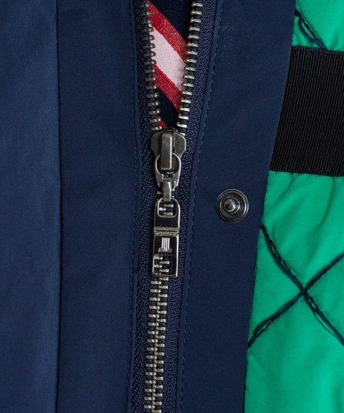 LANVIN en Bleu(ランバンオンブルー)/バイカラーキルティングジャケット/3806208_img10