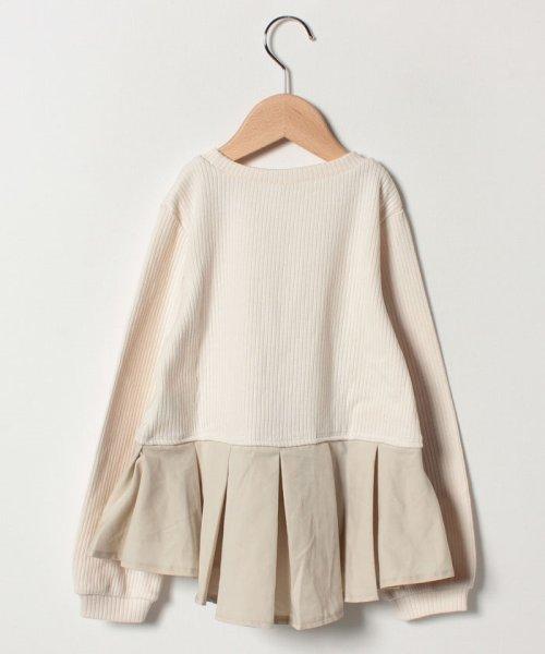 petit main(プティマイン)/タックぺプラムTシャツ/9684241_img01