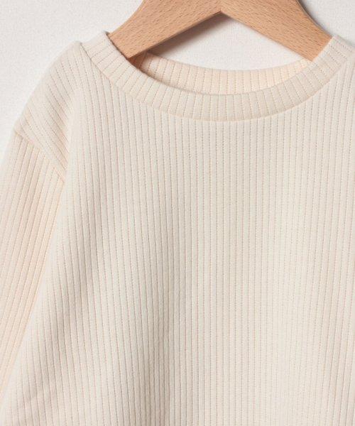 petit main(プティマイン)/タックぺプラムTシャツ/9684241_img02