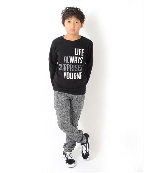 5fbb8fa1dc287a ロゴプリント厚手長袖Tシャツ(501476887) | グラソス(GLAZOS) - MAGASEEK