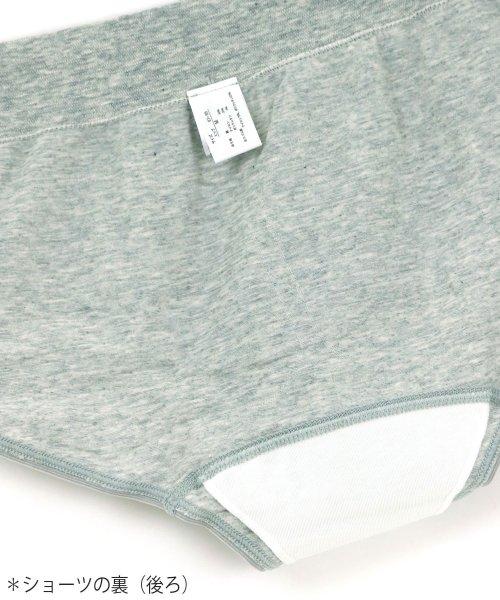 fran de lingerie(フランデランジェリー)/Flat Fit Sanitary Shorts フラットフィットサニタリー レギュラーウィング対応/sa-ff001_img03