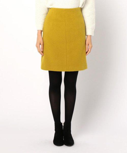 NOLLEY'S(ノーリーズ)/アルパカ混シャギーAラインスカート/8-0035-6-06-011_img01