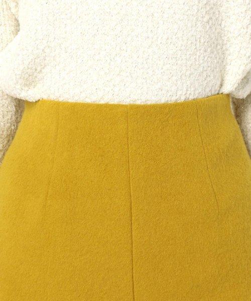NOLLEY'S(ノーリーズ)/アルパカ混シャギーAラインスカート/8-0035-6-06-011_img05