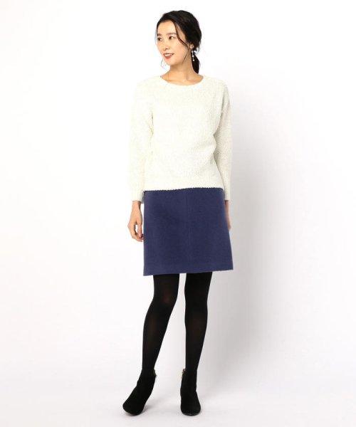 NOLLEY'S(ノーリーズ)/アルパカ混シャギーAラインスカート/8-0035-6-06-011_img10