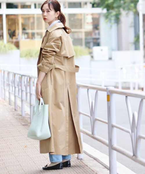 IENA(イエナ)/《追加3予約》YOUNG&OLSEN EMBOSSED レザートートバッグ(M)◆/19092910011810_img35