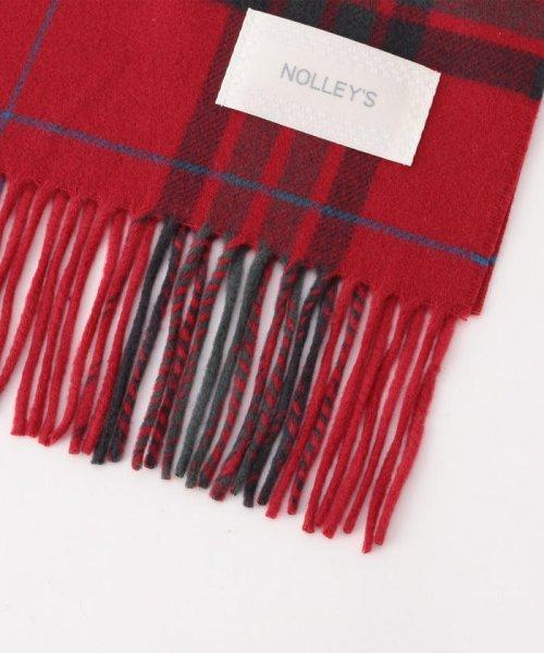 NOLLEY'S(ノーリーズ)/チェックマフラー/8-0135-5-14-155_img01