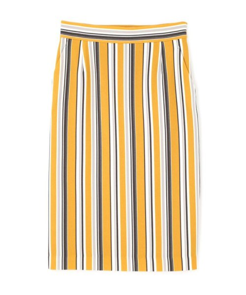 BOSCH(ボッシュ)/[ウォッシャブル]マルチストライプタイトスカート/0219120100_img01