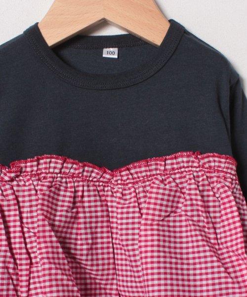 b-ROOM(ビールーム)/【EC別注】ビスチェレイヤード風Tシャツ/9884282_img02
