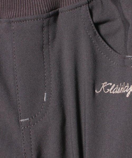 kladskap(クレードスコープ)/ロゴ裏起毛ストレッチパンツ/5384114_img04