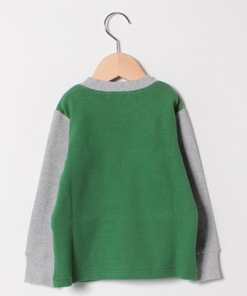 kladskap(クレードスコープ)/アニマル刺しゅうチェック切り替えTシャツ/5384202_img01