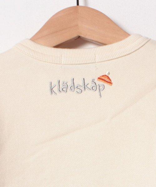 kladskap(クレードスコープ)/アップリケ裏毛トレーナー/5384204_img05