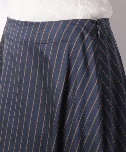 LAPINE BLEUE(ラピーヌ ブルー)/【セットアップ対応】キュプラツィル先染ストライプスカート/239514_img04