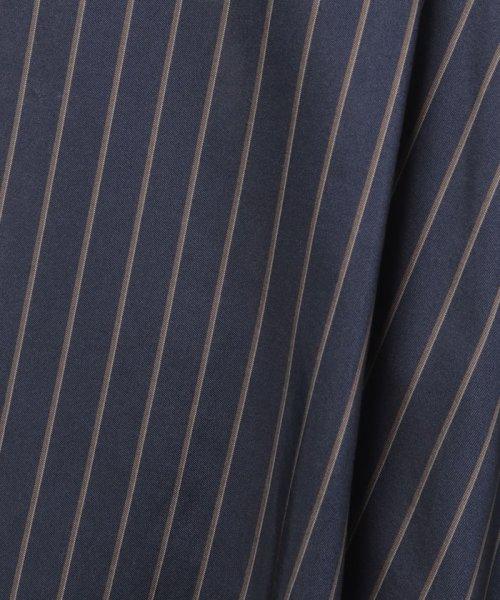 LAPINE BLEUE(ラピーヌ ブルー)/【セットアップ対応】キュプラツィル先染ストライプスカート/239514_img05