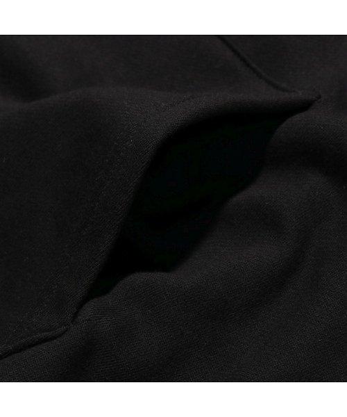 atmoslab(アトモスラボ)/ザ シンプソンズ アトモスラボ クラスティ エンブロイダリー フーディ/al18f-ph02-blk_img03