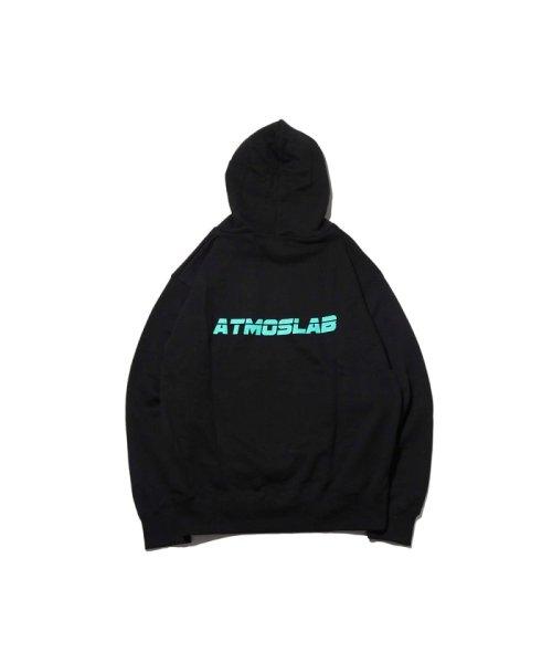 atmoslab(アトモスラボ)/ザ シンプソンズ アトモスラボ クラスティ エンブロイダリー フーディ/al18f-ph02-blk_img07