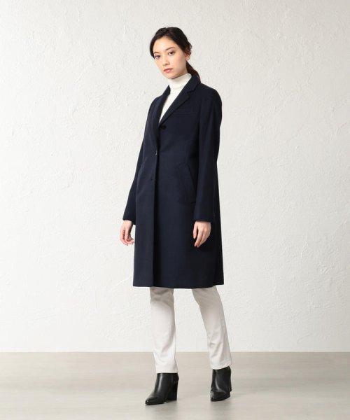 SANYO COAT(サンヨーコート)/◆◆<Rain Wool>super180'sウールチェスターコート/T1B46013--_img01