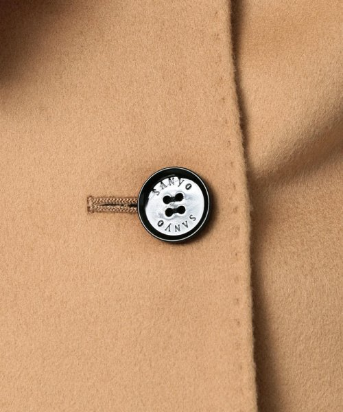 SANYO COAT(サンヨーコート)/◆◆<Rain Wool>super180'sウールチェスターコート/T1B46013--_img10
