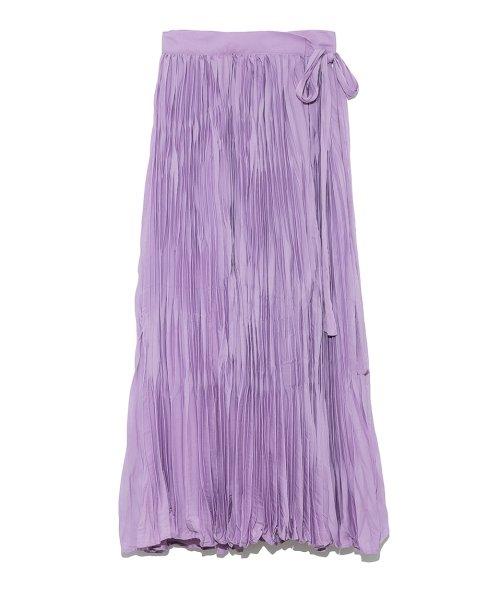 Mila Owen(ミラオーウェン)/ワッシャーマキシ丈巻きスカート/09WFS191066_img02