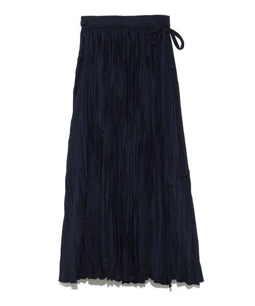 Mila Owen(ミラオーウェン)/ワッシャーマキシ丈巻きスカート/09WFS191066_img10