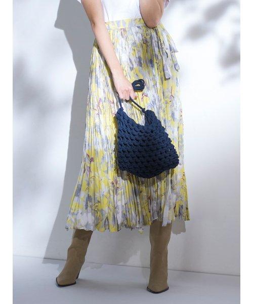 Mila Owen(ミラオーウェン)/ワッシャーマキシ丈巻きスカート/09WFS191066_img11