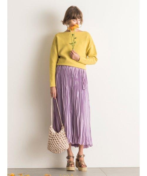 Mila Owen(ミラオーウェン)/ワッシャーマキシ丈巻きスカート/09WFS191066_img14