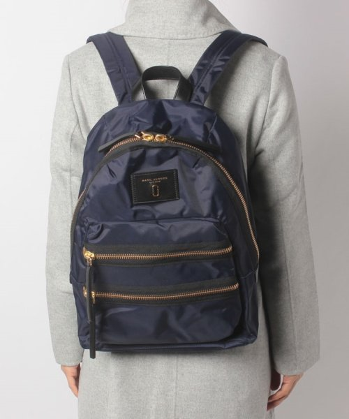 MARC JACOBS(マークジェイコブス)/【MARC JACOBS】バックパック/Nylon Biker Backpack【MIDNIGHT BLUE】/M00127000007415_img05