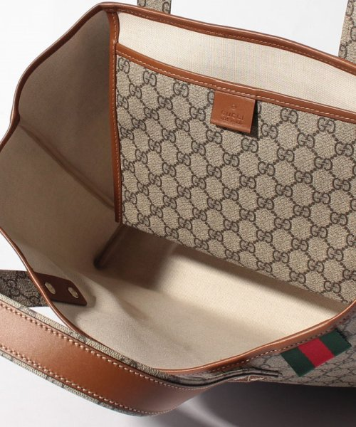 GUCCI(グッチ)/トートバッグ / TOTES 【BEIGE/EBONY+CUIR-VRV】/211134KGD3G8527_img03
