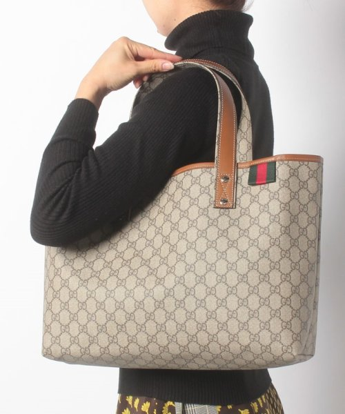 GUCCI(グッチ)/トートバッグ / TOTES 【BEIGE/EBONY+CUIR-VRV】/211134KGD3G8527_img05