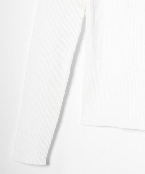 GRACE CONTINENTAL(グレースコンチネンタル)/コンパクトリブニットトップ/39143297_img07