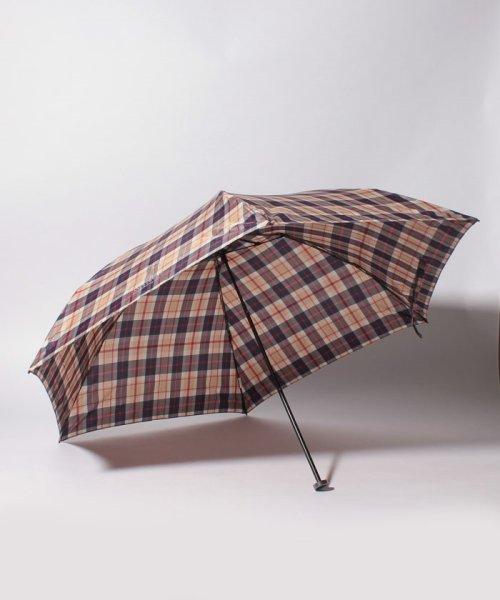 MACKINTOSH PHILOSOPHY(umbrella)(マッキントッシュフィロソフィー(傘))/MACKINTOSH PHILOSOPHY婦人ミニP30Dタフタ先染めハウスチェック/214310907002_img01
