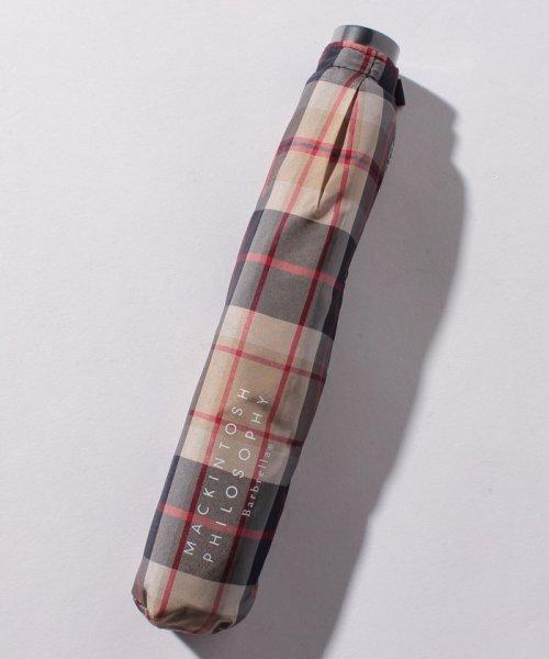 MACKINTOSH PHILOSOPHY(umbrella)(マッキントッシュフィロソフィー(傘))/MACKINTOSH PHILOSOPHY婦人ミニP30Dタフタ先染めハウスチェック/214310907002_img02