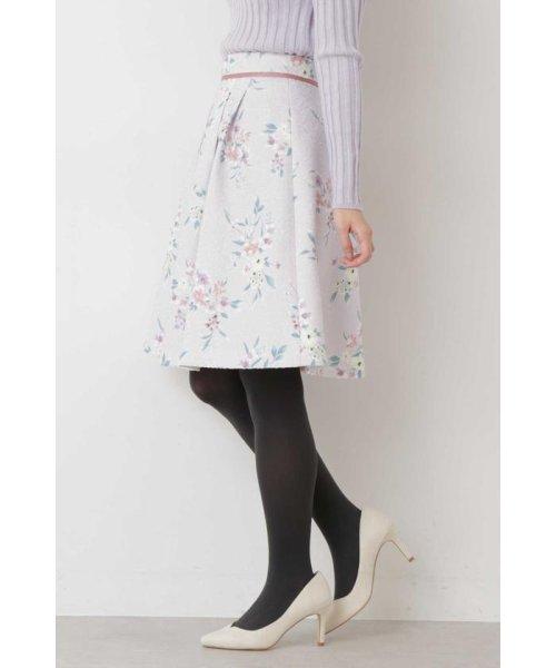 PROPORTION BODY DRESSING(プロポーション ボディドレッシング)/フラワータックジャガードスカート/1219120008_img06