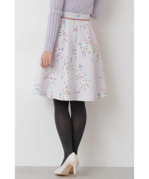 PROPORTION BODY DRESSING(プロポーション ボディドレッシング)/フラワータックジャガードスカート/1219120008_img07