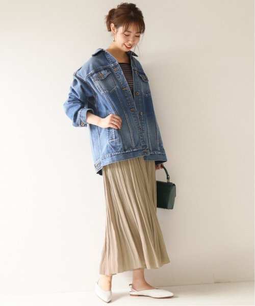 Spick & Span(スピック&スパン)/ナイルサテンプリーツスカート2◆/19060200401110_img02