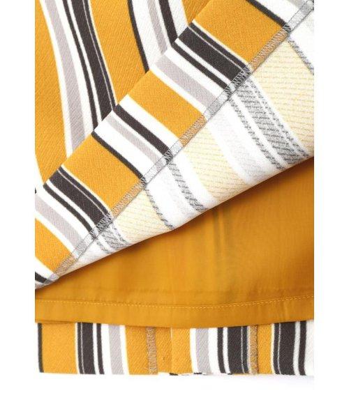 BOSCH(ボッシュ)/[ウォッシャブル]マルチストライプタイトスカート/0219120100_img05