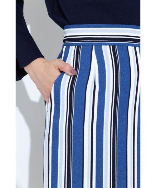 BOSCH(ボッシュ)/[ウォッシャブル]マルチストライプタイトスカート/0219120100_img11