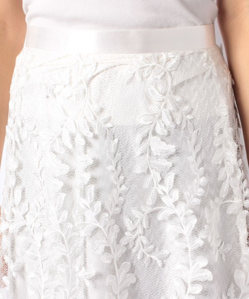 JUSGLITTY(ジャスグリッティー)/リーフ刺繍ロングフレアスカート/48430150_img08
