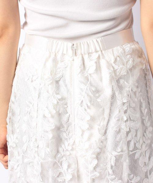 JUSGLITTY(ジャスグリッティー)/リーフ刺繍ロングフレアスカート/48430150_img09