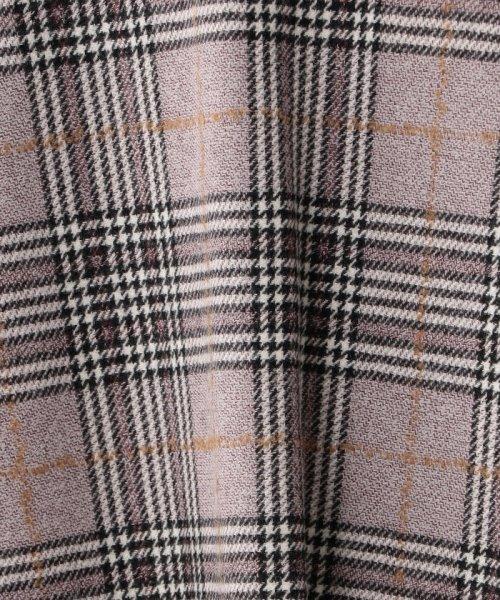 AMACA(アマカ)/ツイーディーカラーグレンチェックフレアースカート/V5S19880--_img08