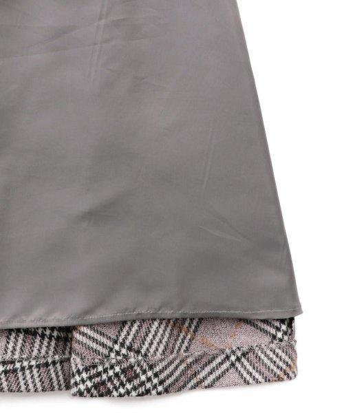 AMACA(アマカ)/ツイーディーカラーグレンチェックフレアースカート/V5S19880--_img09