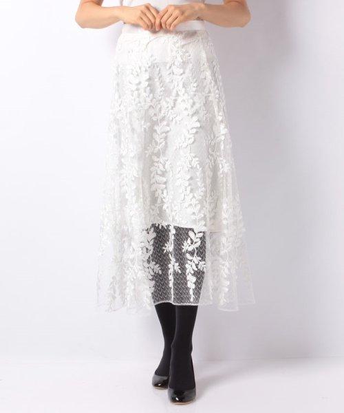 JUSGLITTY(ジャスグリッティー)/リーフ刺繍ロングフレアスカート/48430150_img12