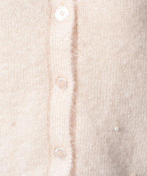 Eimy Peal by POWDER SUGAR(エイミーパール バイ パウダーシュガー)/チラシパールカーディガン/3T5165651_img09