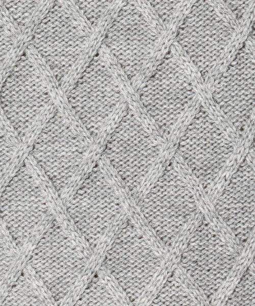 LHP(エルエイチピー)/LHP/エルエイチピー/【web限定】7ゲージ アラン柄タートルネックニット/4309183004-60_img04