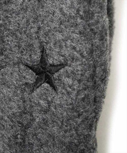 ACCENT by GLAZOS(アクセント バイ グラソス)/スター刺繍フリース手袋/ga8070_img02